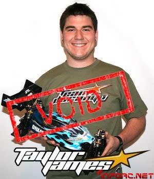 Taylor James deja Team Durango