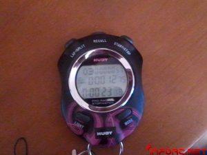 Función cuenta vueltas cronometro Hudy