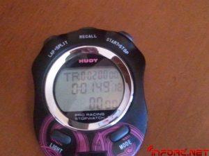 Función tiempo atrás o adelante cronometro Hudy