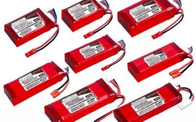 Listado de baterias LiPo aprobadas por IFMAR