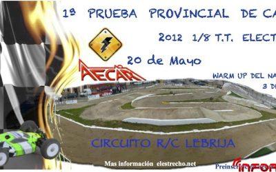 Primera prueba del Provincial de Cadiz 1/8 Electrico