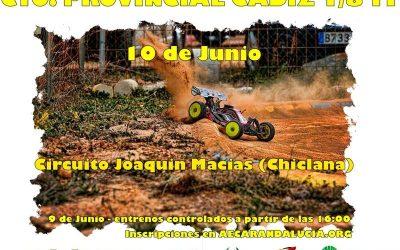 Provincial de Cadiz el 10 de Junio en Chiclana