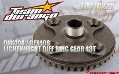 Coronas aligeradas para los diferenciales de Team Durango