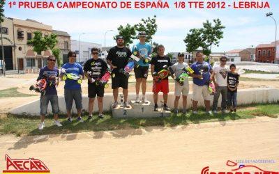 Campeonato nacional de buggy electrico 1/8
