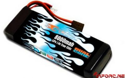 LiPo Dual Core 8000 mah 150C de MaxAmps