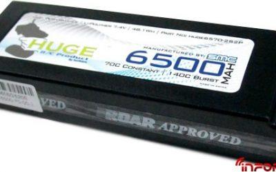 LiPo Huge 6500 mah 70C