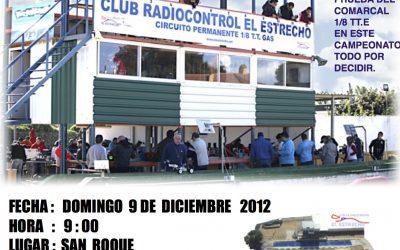 Ultima prueba de 1/8 tt electrico en el club El Estrecho