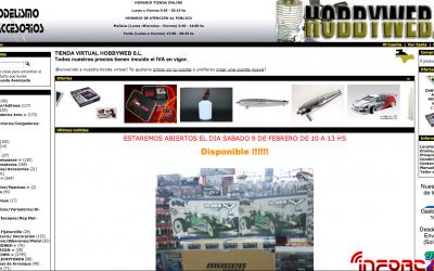 Hobbyweb, nuevo patrocinador de infoRC.net