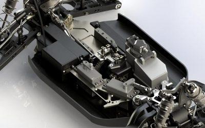 Otra nueva imagen del buggy diseñado por Riccardo Rabitti para Radiosistemi