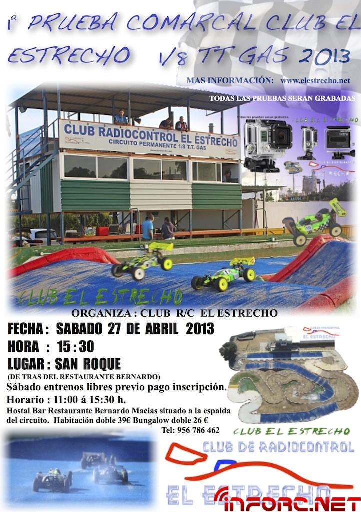 Cartel Informacion el estrecho 2013 comarcal
