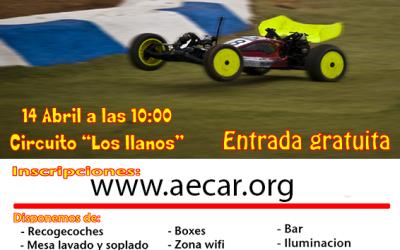 Primera prueba del Campeonato de Andalucia 1/10 TT Eléctrico