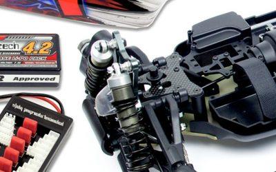 Brushless project 1/8. Montando un coche radiocontrol 1/8 TT eléctrico