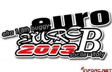 Datos sobre el Campeonato de Europa B 1/8 tt 2013 en Sacile, Italia