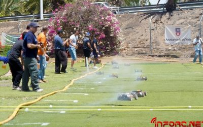 Javier Guerra se anota la 7ª Prueba del Provincial de las Palmas 1/8TT Gas