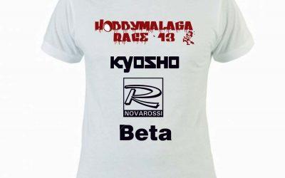 Camisetas de la Hobbymalaga Race 2013