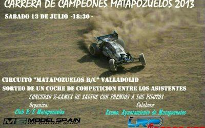 Tercera Carrera de Campeones Matapozuelos 2013, Valladolid