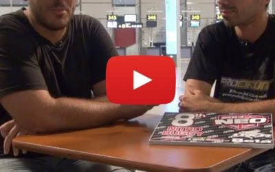 Video. Entrevista a Agustín Illanes en su llegada a España tras la Neo 13