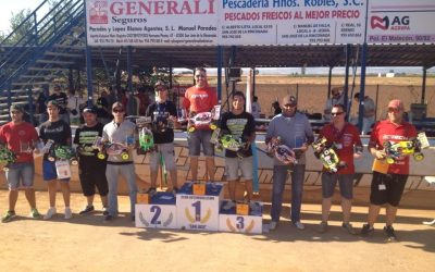 Y así queda el Campeonato de Andalucía 1/8 TT Gas 2013