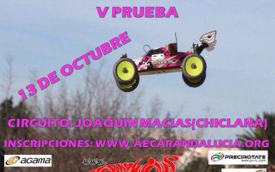 Última prueba del Campeonato de Cádiz 2013 1/8 tt gas