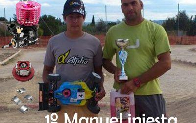 Manuel Iniesta consigue el primer puesto en el Open de Murcia