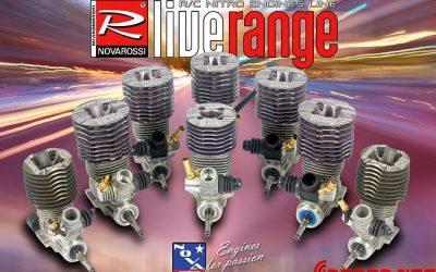Nueva gama de motores Novarossi disponible en Enero