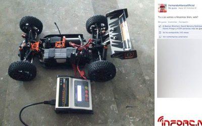 Fernando Alonso quiere llevarse bien con su coche radiocontrol