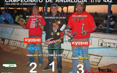 Crónica de la primera prueba del Campeonato de Andalucía 1/10 TT E