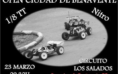 Primera carrera del Open Ciudad de Benavente