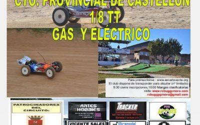 Campeonato provincial de Castellón 1/8 TT Gas y eléctrico