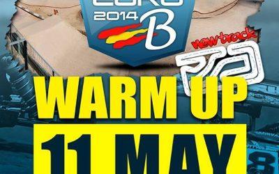 Warm Up para el Campeonato de Europa B 1/8 TT Gas en Madrid el próximo fin de semana