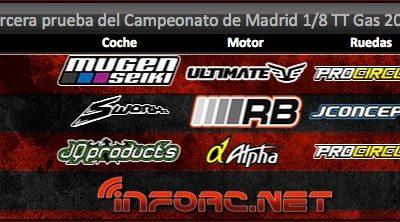 Resumen: Tercera prueba del Campeonato de Madrid 1/8 TT Gas 2014