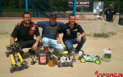 Javi Pombo, ganador de la penúltima prueba del Campeonato de Madrid