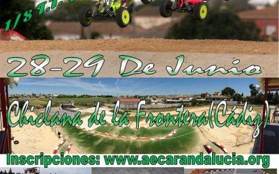 Conoce el circuito de Chiclana para la tercera prueba del Campeonato de Andalucía 1/8 TT Gas 2014