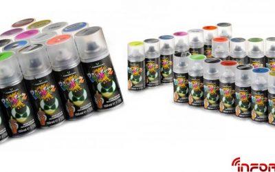 Absima lanza su gama de pinturas en spray para lexan