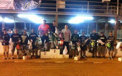Resultados de la Carrera Nocturna de Antas 1/8 TT Gas 2014