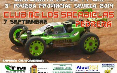 Este finde, tercera prueba del Provincial de Sevilla 1/8 TT Gas 2014