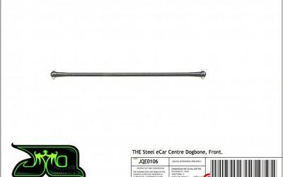 Nuevos palieres de acero de JQ Products para THE eCar
