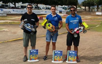 Cristian Artiles se proclama Campeón Provincial de Las Palmas 1/8 TT GAS 2014