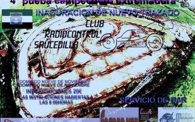 9 Noviembre. Invitacion al regional de Extremadura. Última prueba.