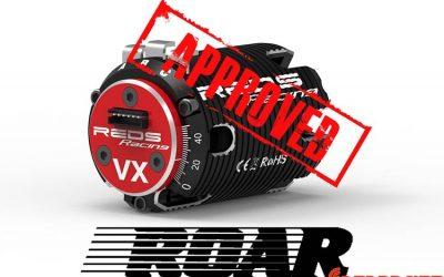 Motores brushless de REDS Racing, homologados para ROAR