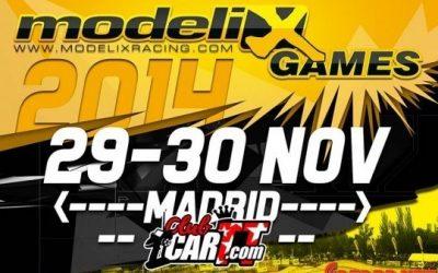 Modelix Games Fuencarral - Inscripciones abiertas, plazas limitadas. 29 y 30 Noviembre