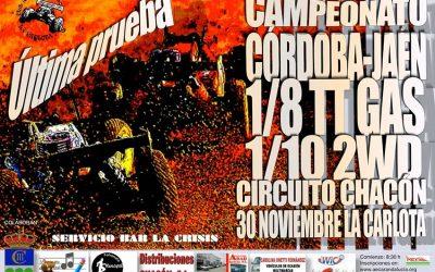 30 de Noviembre, última prueba del Camp. Córdoba-Jaén 1/8 TT Gas 2014