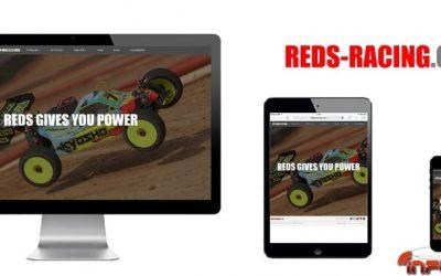 Nuevo sitio web de REDS Racing