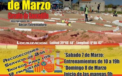 7 y 8 de Marzo, Warm Up para el España B en Saucedillas