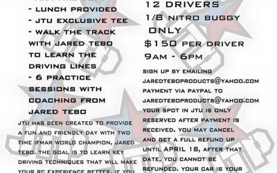 JTU - Clases de conducción con Jared Tebo