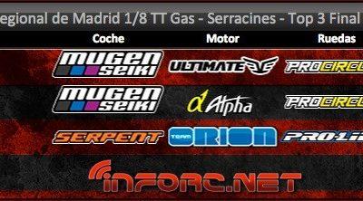 Crónica: Regional de Madrid en Serracines RC. Por AECAR Madrid