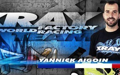 Yannick Aigoin vuelve a XRay varios años después