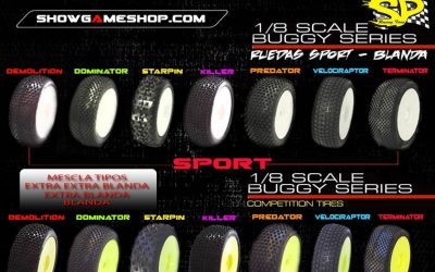 Showgameshop - Nueva gama de neumáticos SP sport y competition