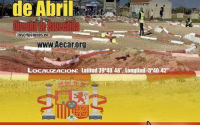 11 y 12 de Abril: Segunda prueba del Campeonato de España B 1/8 TT Gas 2015