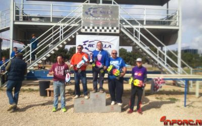Resultados: Segunda prueba del Levante 1/8 TT-E 2015
